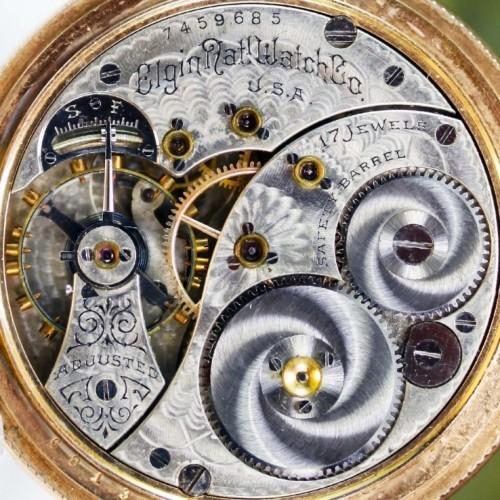 Elgin Grade 188 Pocket Watch Image