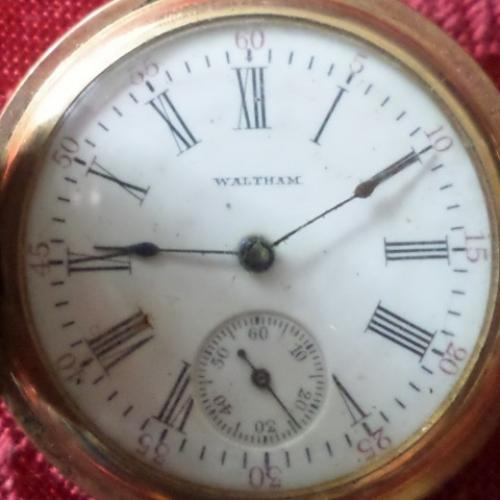 Waltham Grade No. 115 Pocket Watch Image