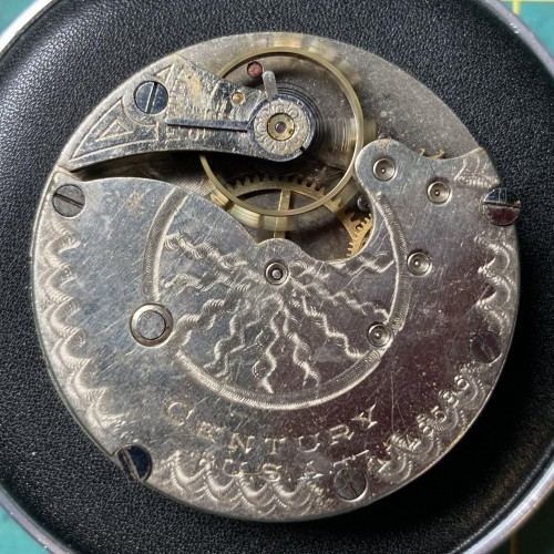 Seth Thomas Grade Century Pocket Watch Image