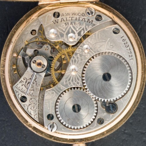 Waltham Grade No. 110 Pocket Watch Image