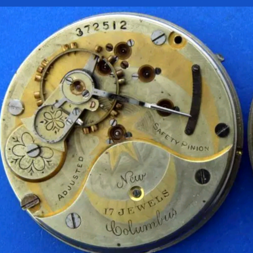 Columbus Watch Co. Grade 203 Pocket Watch Image