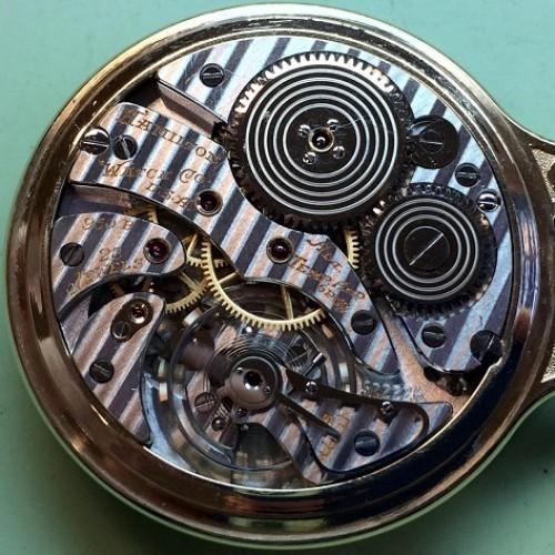Hamilton Grade 950B Pocket Watch Image