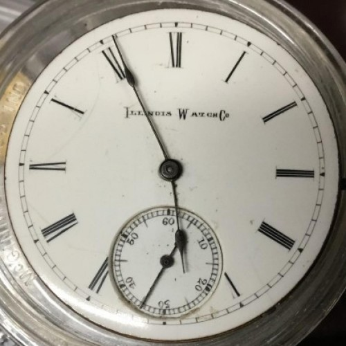 Illinois Grade 151 Pocket Watch Image