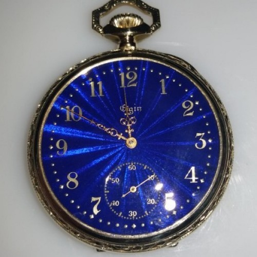 Elgin Grade 221 Pocket Watch Image