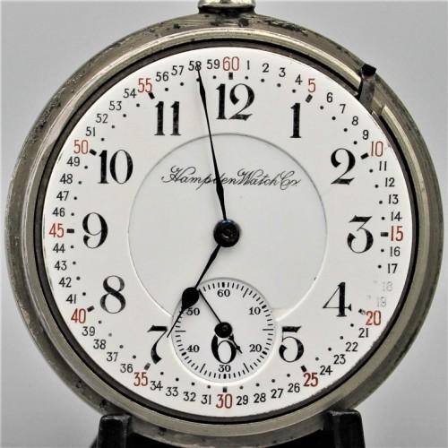 Hampden Grade Railway Pocket Watch