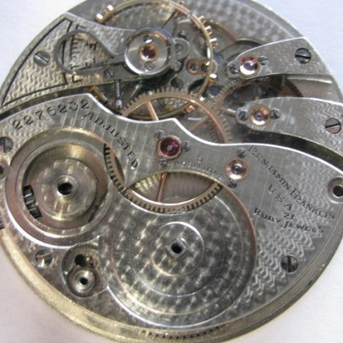 Illinois Grade 299 Pocket Watch Image