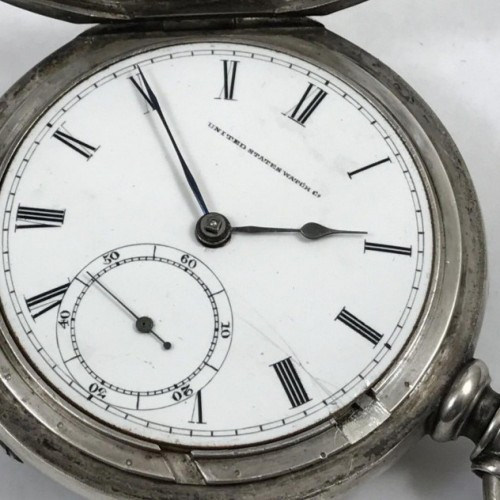 U.S. Watch Co. (Marion, NJ) Grade Frederic Atherton & Co. Pocket Watch Image