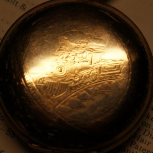 Hampden Grade No. 35 Pocket Watch Image