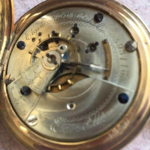 Elgin Grade 5 Pocket Watch Image