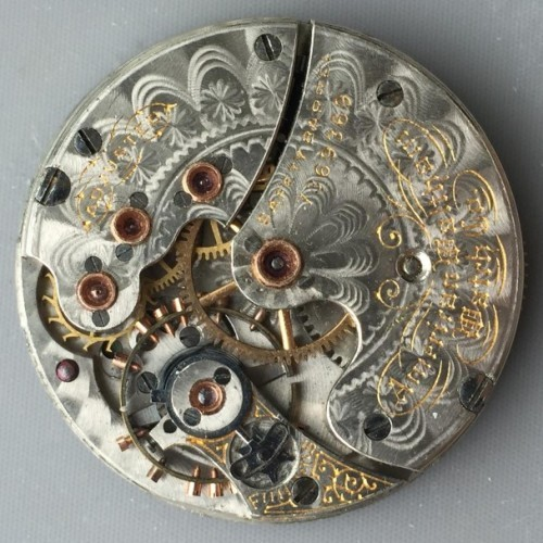 Waltham Grade No. 68 Pocket Watch Image