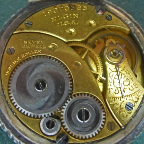 Elgin Grade 409 Pocket Watch Image