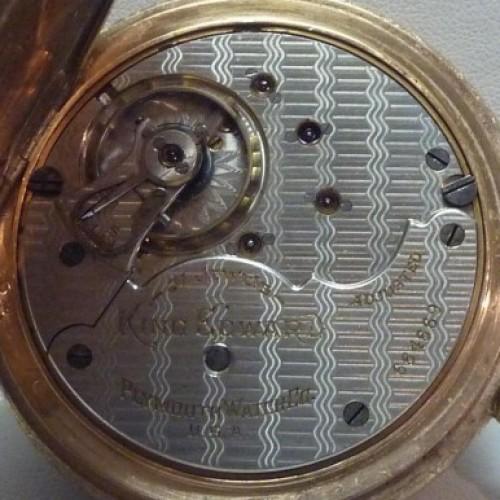 Rockford Grade 845 Pocket Watch Image