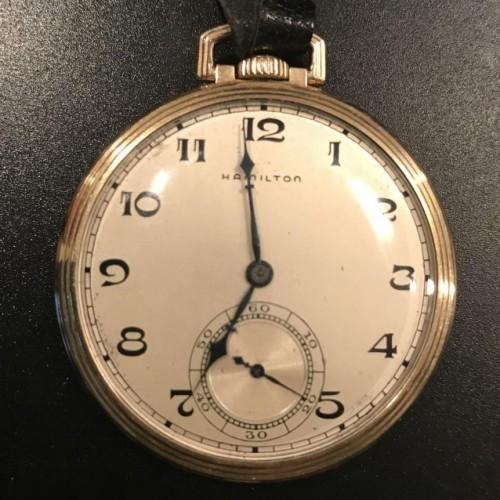 Hamilton Grade 917 Pocket Watch Image