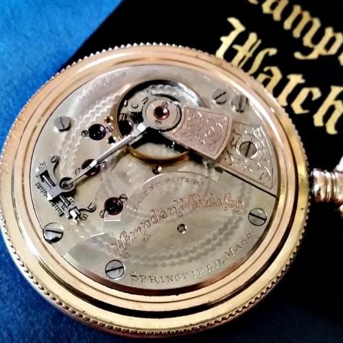 Hampden Grade No. 62 Pocket Watch Image