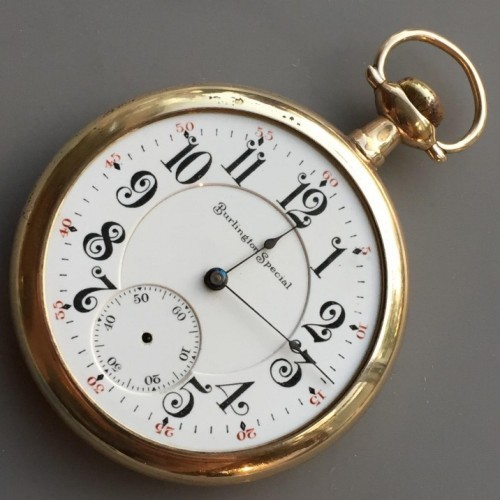 Illinois Grade 174 Pocket Watch Image