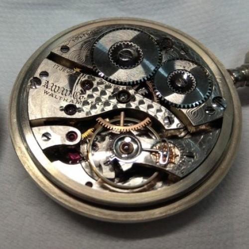 Waltham Grade No. 635 Pocket Watch Image