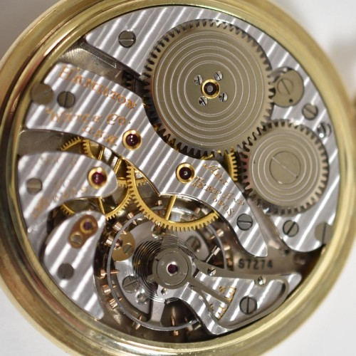 Hamilton Grade 950B Pocket Watch Image