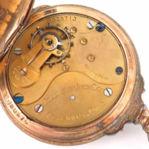 Columbus Watch Co. Grade 20 Pocket Watch Image