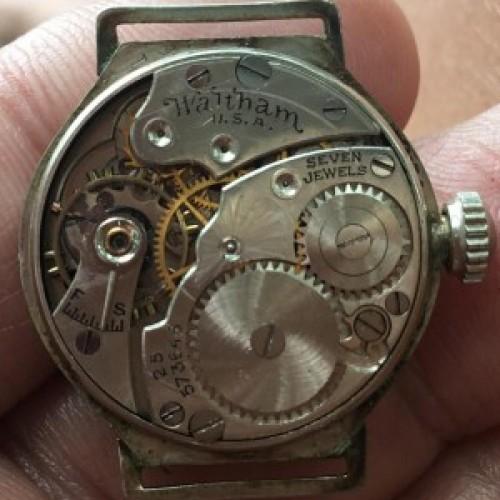 Waltham Grade No. 461 Pocket Watch Image