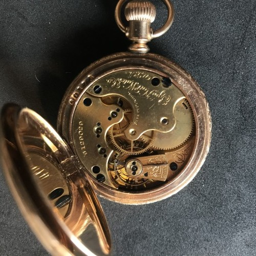 Elgin Grade 132 Pocket Watch Image