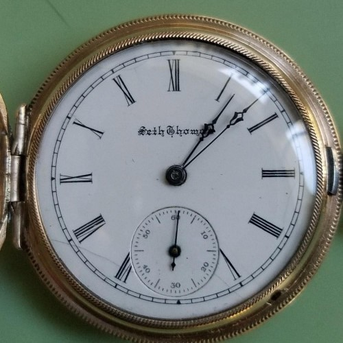 Seth Thomas Grade 122 Pocket Watch Image