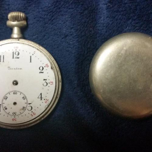 Trenton Watch Co. Grade  Pocket Watch Image