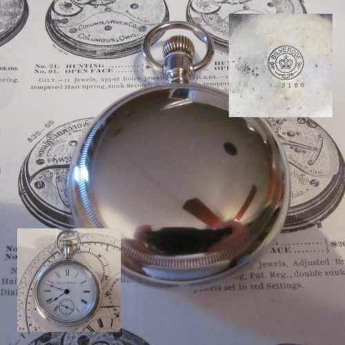 Columbus Watch Co. Grade 91 Pocket Watch Image
