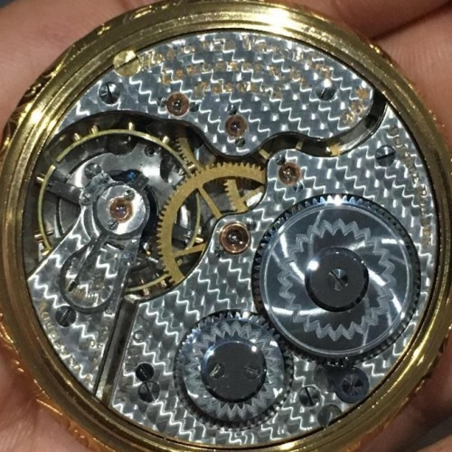 Hamilton Grade 954 Pocket Watch Image