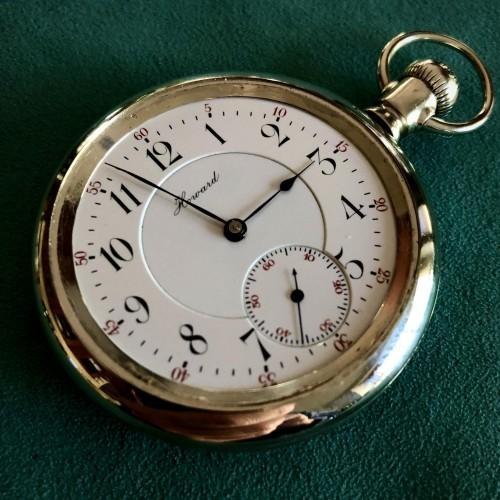 E. Howard Watch Co. (Keystone) Grade Series 4 Pocket Watch Image