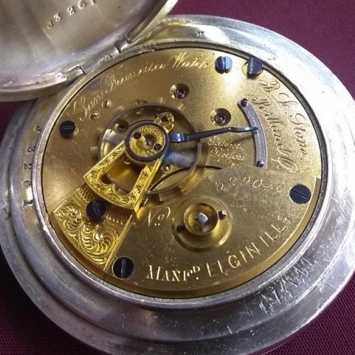 Elgin Grade 8 Pocket Watch Image