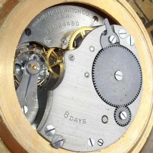 Elgin Grade 490 Pocket Watch Image