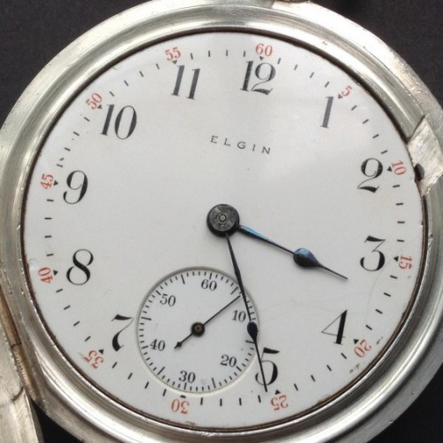 Elgin Grade 273 Pocket Watch Image