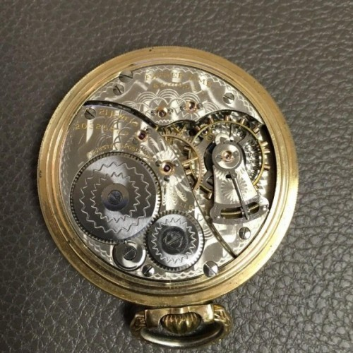 Elgin Grade 454 Pocket Watch Image
