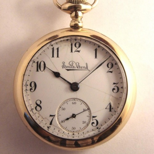 South Bend Grade 323 Pocket Watch Image