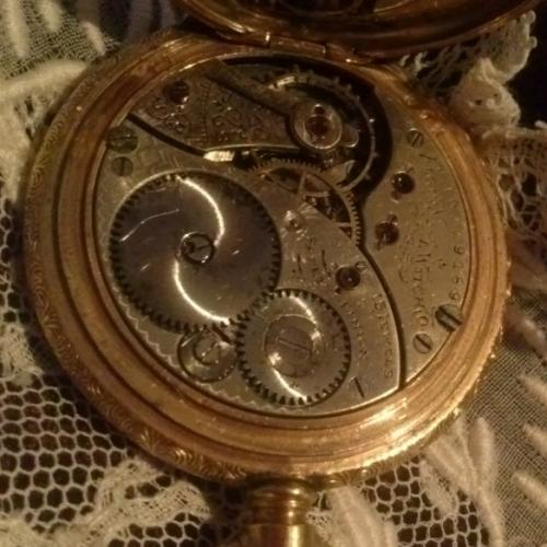 Elgin Grade 267 Pocket Watch Image