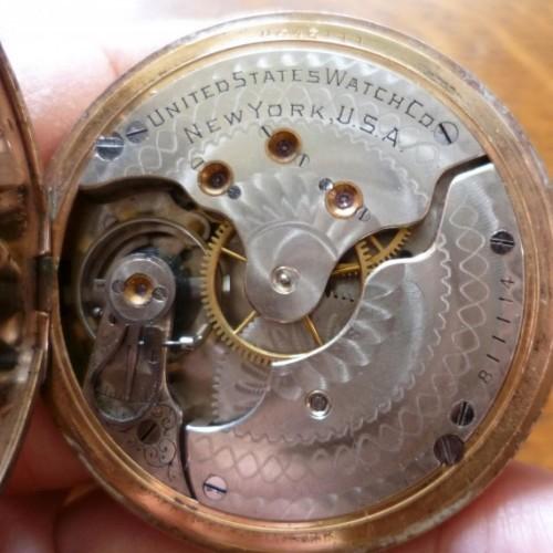 Image of U.S. Watch Co. (Waltham, Mass)  #811114 Movement