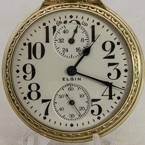 Elgin Grade 455 Pocket Watch Image