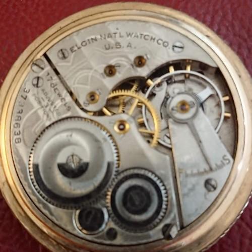 Elgin Grade 486 Pocket Watch Image