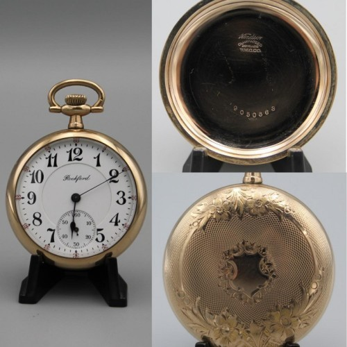 Rockford Grade 635 Pocket Watch Image
