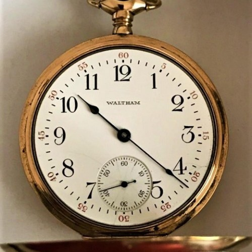 Boston Watch Co. Grade  Pocket Watch Image