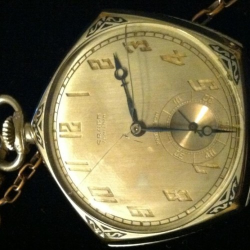 Gruen Watch Co. Grade V4 - precision Pocket Watch Image