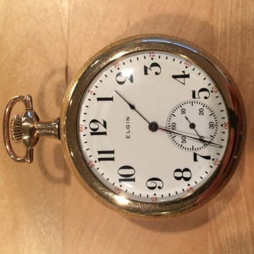 Elgin Grade 194 Pocket Watch Image