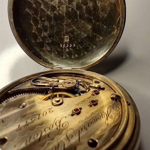 E. Howard & Co. Grade Hound Pocket Watch Image