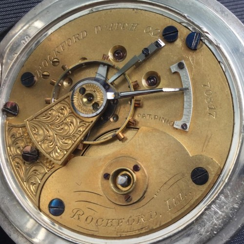 Rockford Grade 9 Jewels Pocket Watch Image