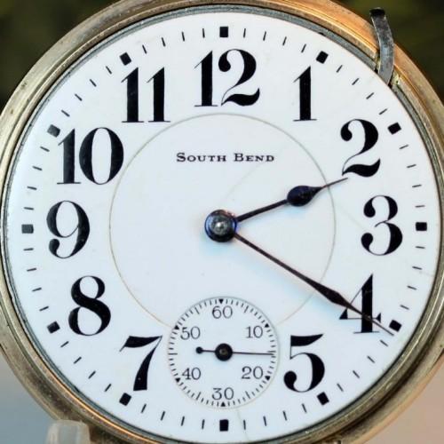 South Bend Grade 227 Pocket Watch Image
