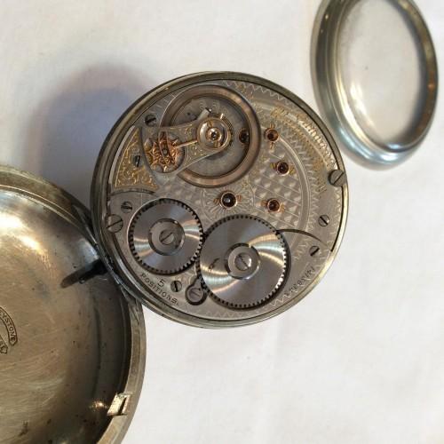 American Watch Co. Grade Bond St. Pocket Watch Image