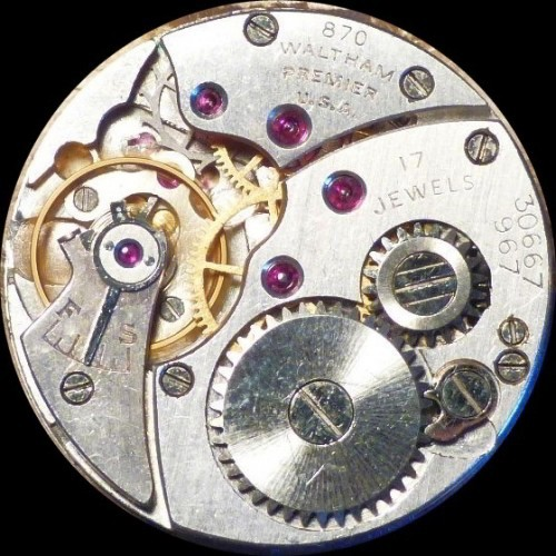 Waltham Grade No. 887 Pocket Watch Image