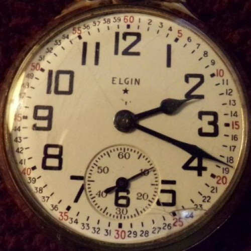 Elgin Grade 571 Pocket Watch Image