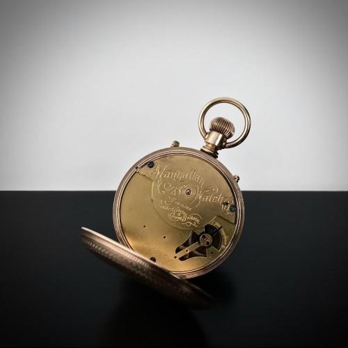 Manhattan Watch Co. Grade  Pocket Watch Image