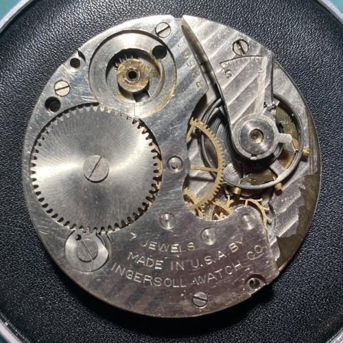 Ingersoll Watch Co. Grade Reliance Pocket Watch Image